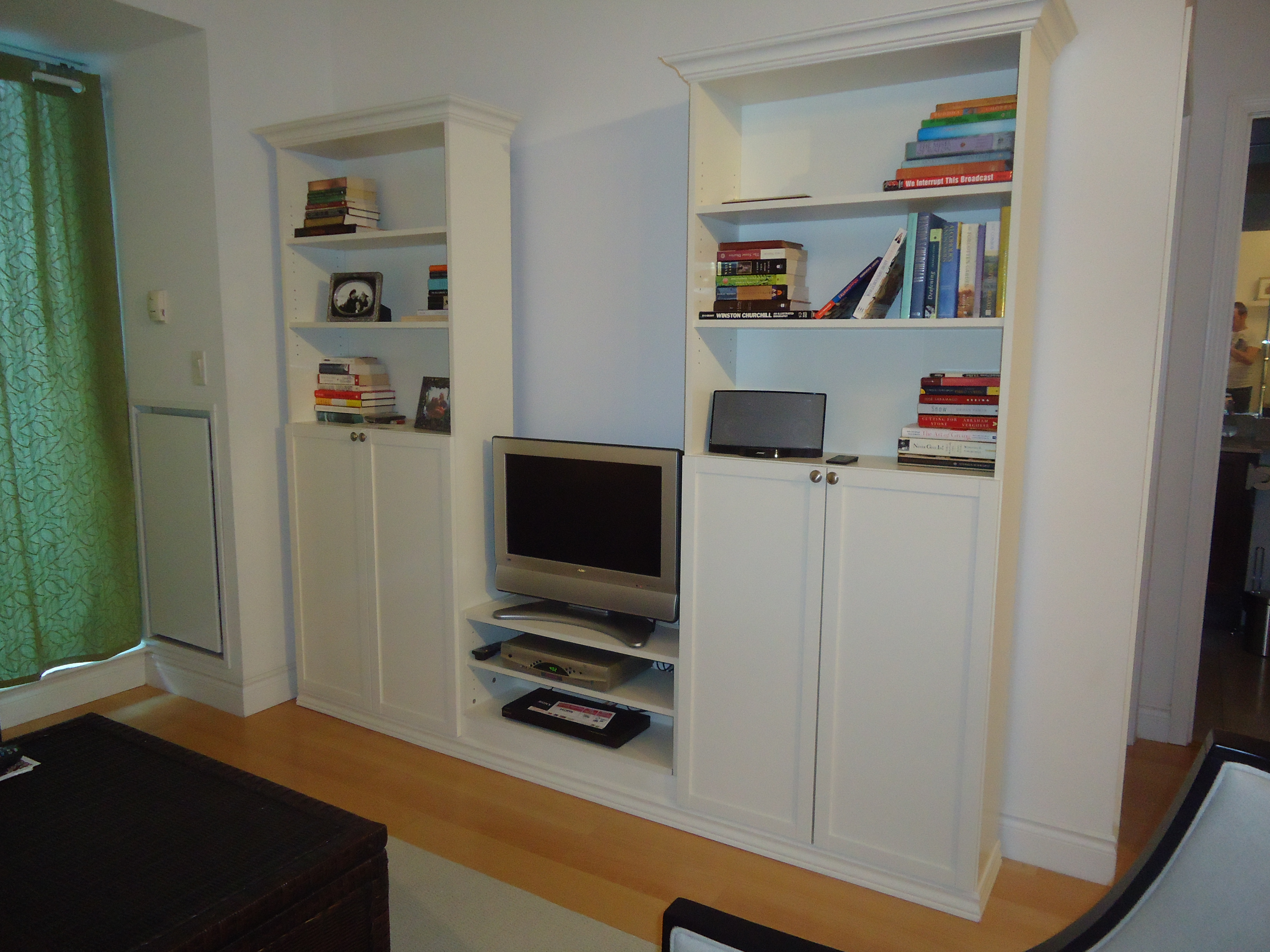 bookcase pin furniture sitting pinterest custom bookcases rooms woodwind