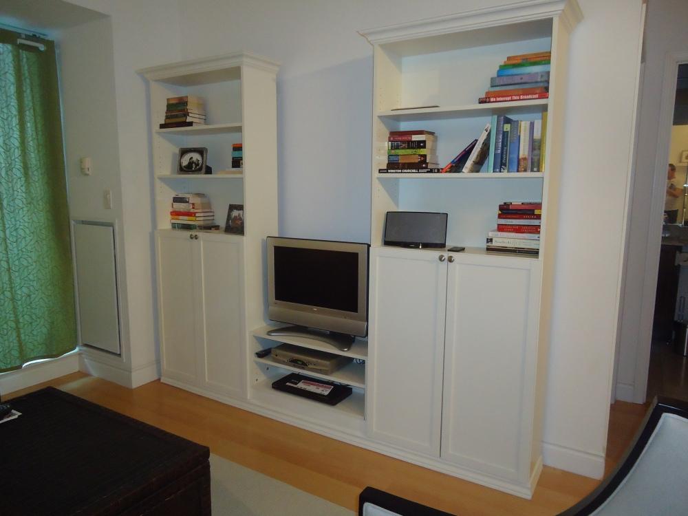 Creating a custom bookcase