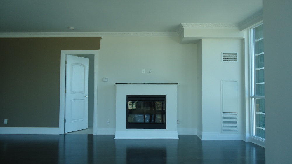 Another fireplace makeover, thanks Ikea (1/5)