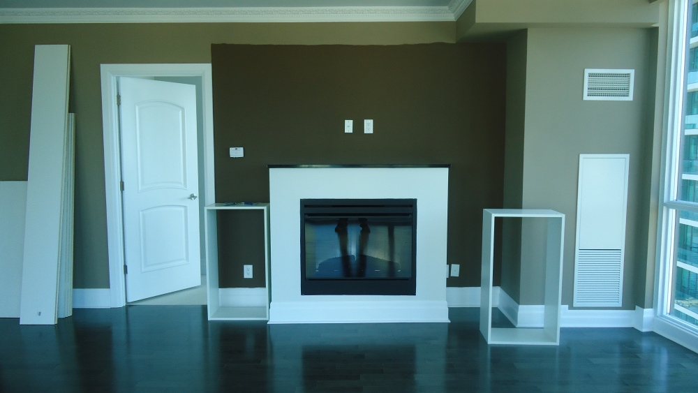 Another fireplace makeover, thanks Ikea (2/5)