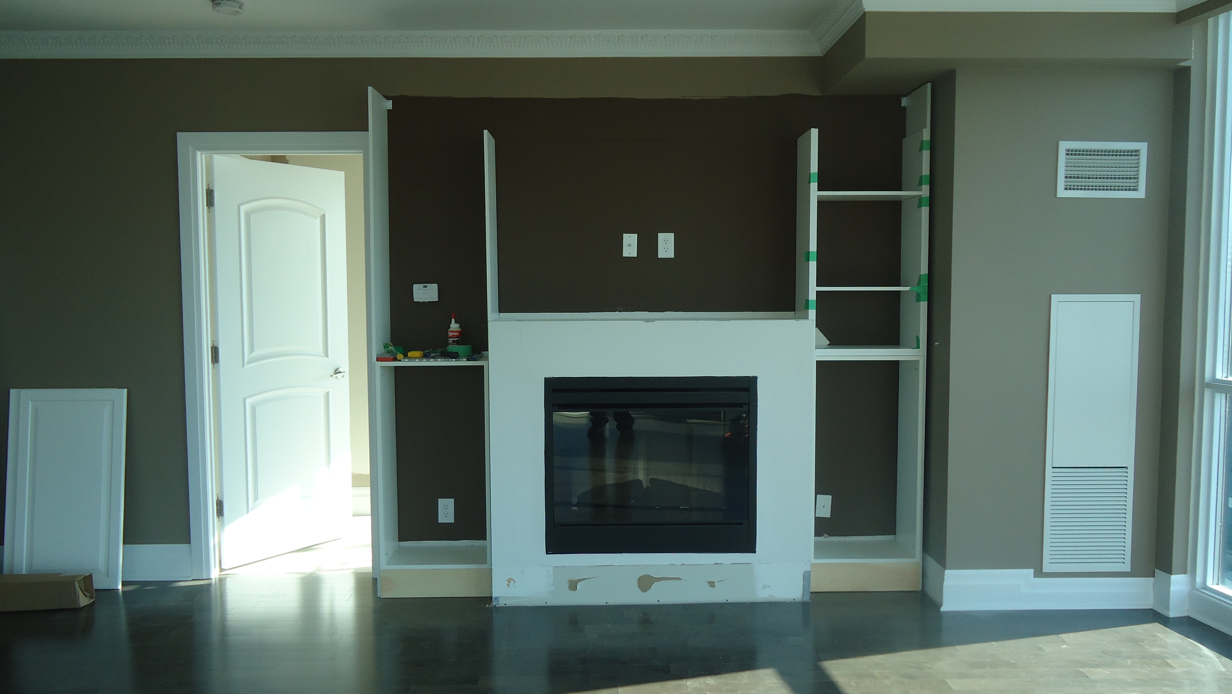 Fireplace For Small Spaces: Another Fireplace Makeover, Thanks Ikea