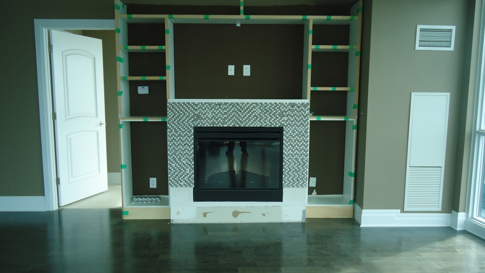 Another fireplace makeover, thanks Ikea (4/5)