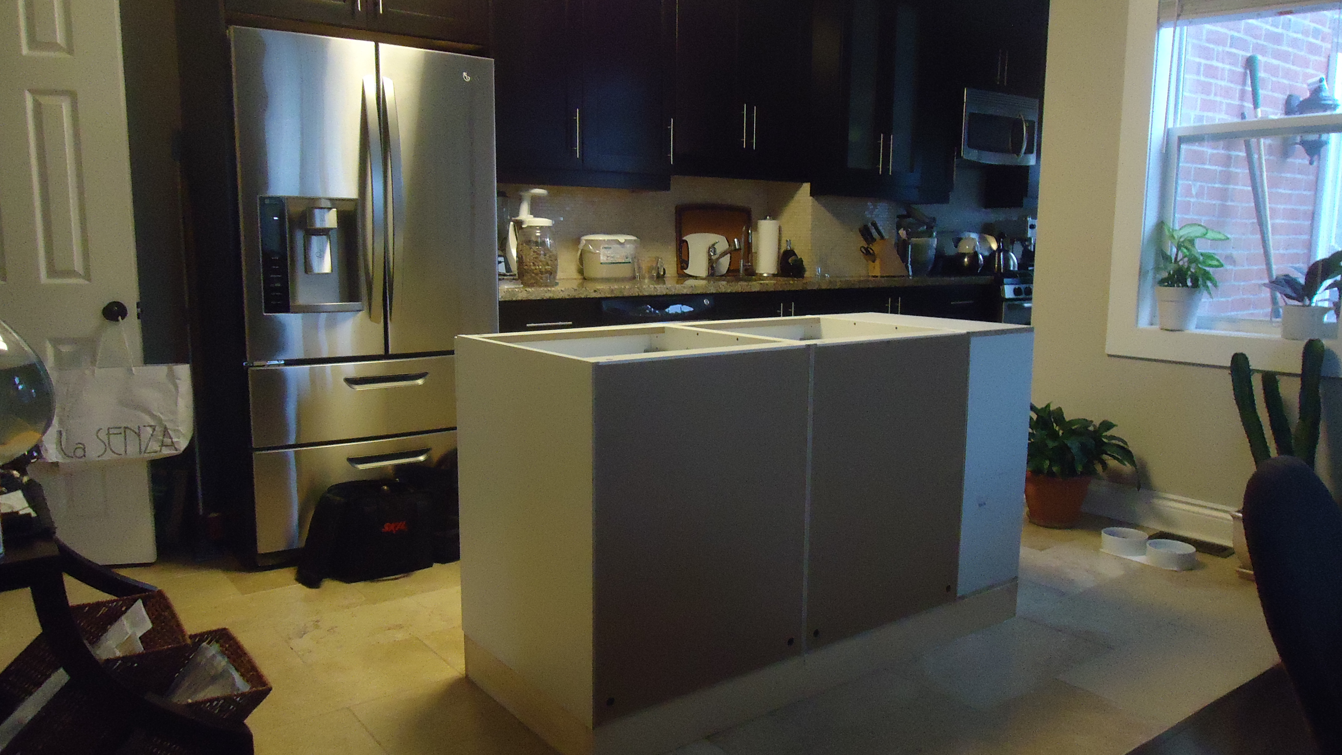 Building a kitchen island
