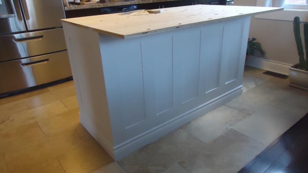 Building a kitchen island (5/6)