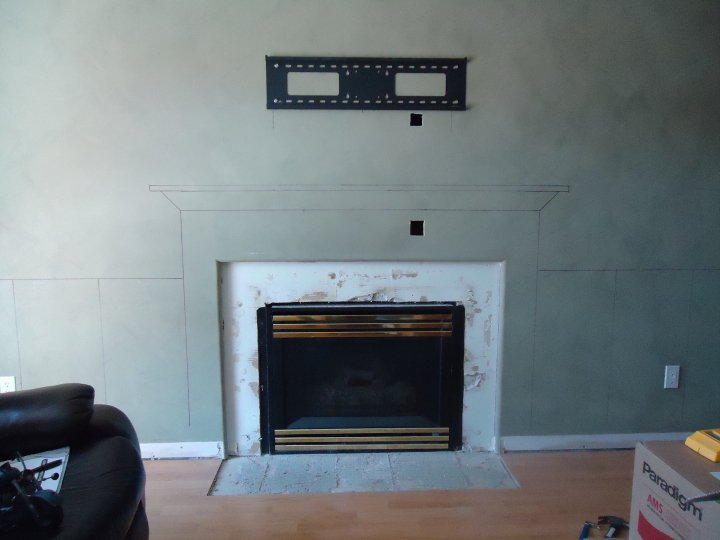 My favourite fireplace makeover (2/6)