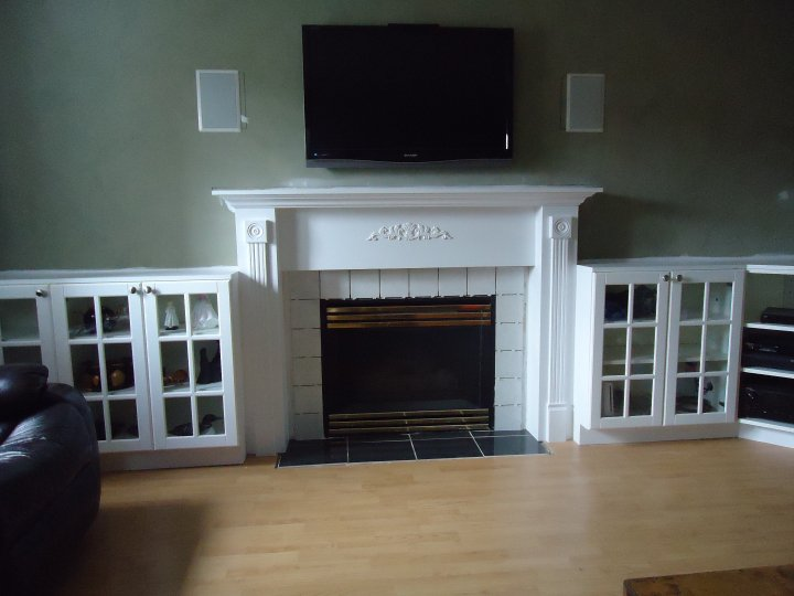 My Favourite Fireplace Makeover Small Space Style