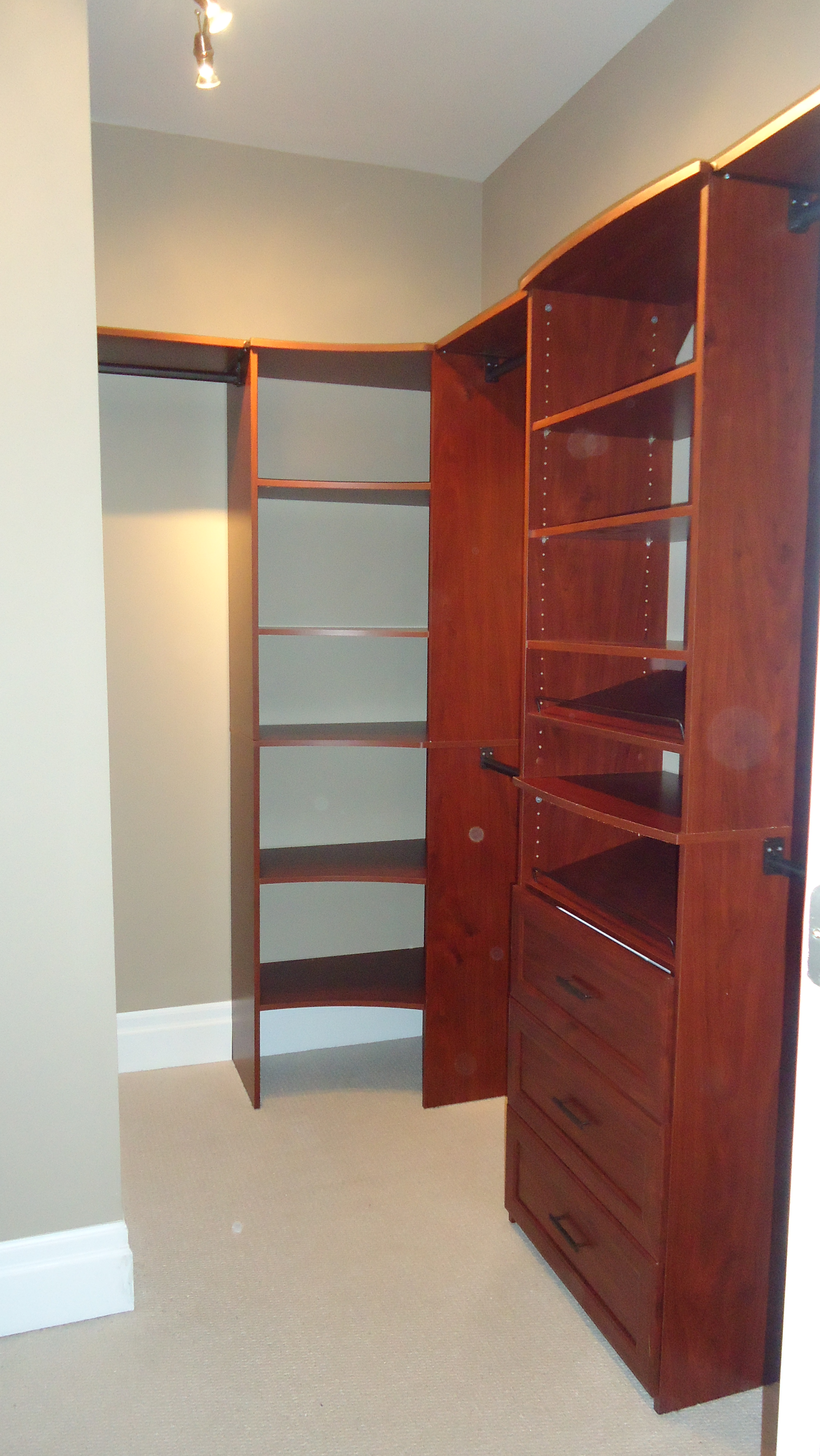 Building A Custom Walk In Closet Small Space Style
